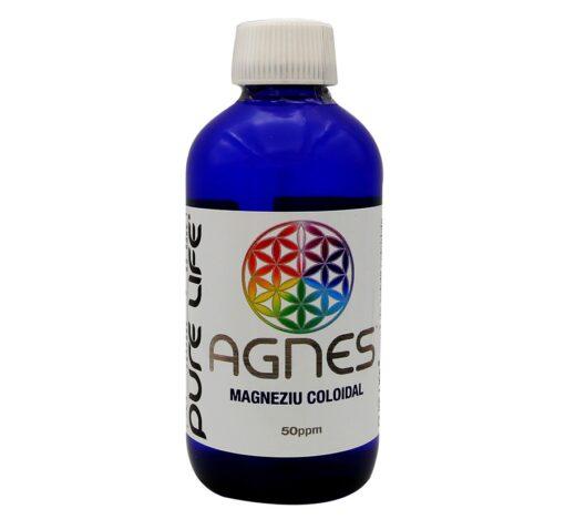 AGNES™ Magneziu coloidal 50ppm 240ml
