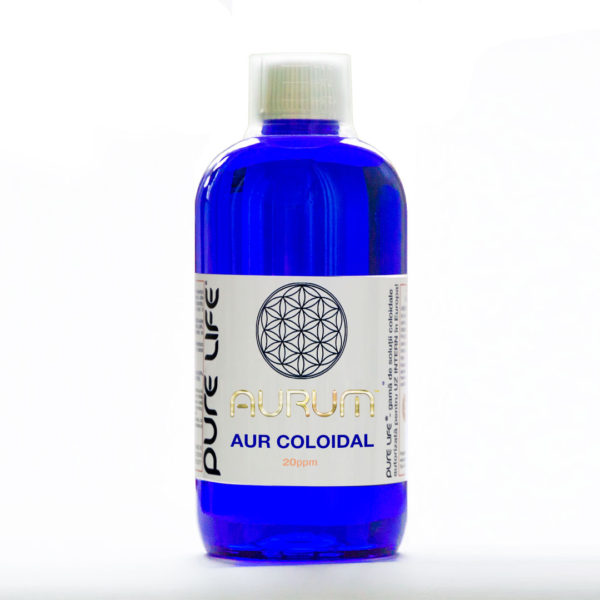 AURUM Aur coloidal 480 ml 20ppm